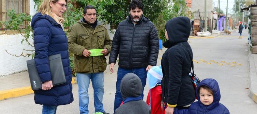 El Programa 'Sueño Seguro' llegó al barrio San Jorge