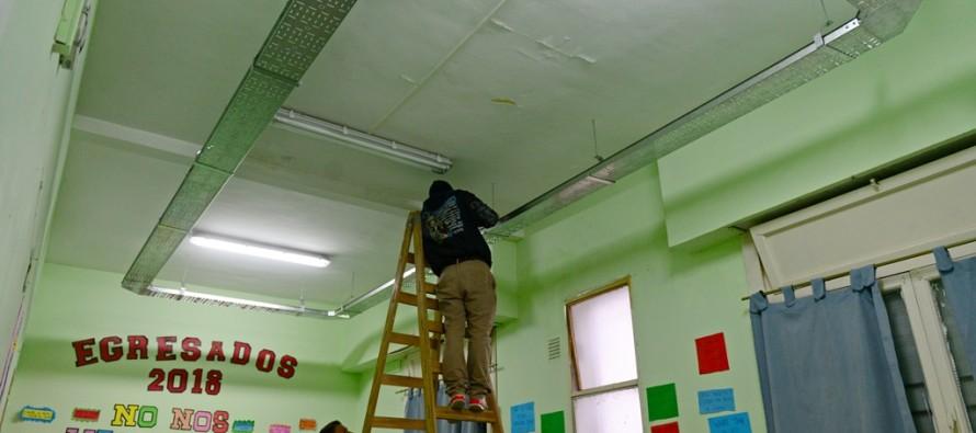 Renovación del sistema eléctrico en la Escuela Primaria N° 9