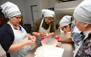 En la Escuela Municipal de Oficios se realizó un seminario de comidas para diabéticos