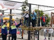 Comenzó el 'Mes del Niño' en las plazas Villa del Carmen y Malvinas Argentinas