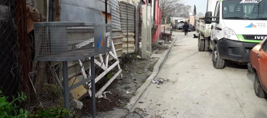 Tareas de limpieza y mejoras en los barrios Presidente Perón y La Esperanza