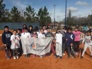 La Escuela Municipal de Tenis participó de un torneo regional