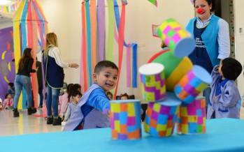 Los jardines maternales y los centros educativos integrales celebraron el Día del Niño