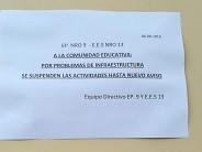 El Consejo Escolar cerrará todas las escuelas públicas de nuestra ciudad para chequear la red de gas