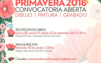 Nueva edición del Salón Primavera: convocatoria abierta para participar con obras de dibujo, pintura y grabado