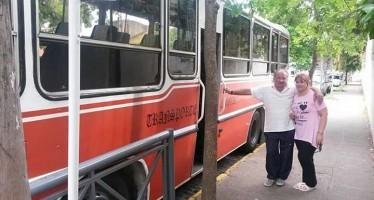"""""""El Gallego"""", una vida dedicada al transporte escolar"""