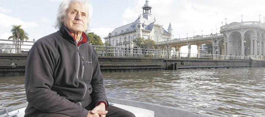 Se hizo experto ambientalista en el Delta a fuerza de sufrir la contaminación