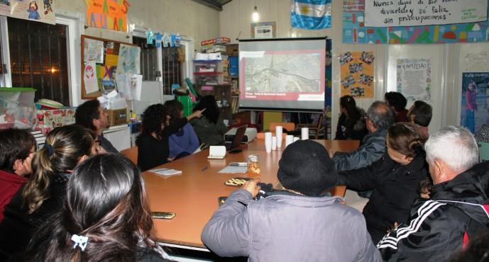 Casa Ombú presentó un proyecto de mapeo para los barrios San Jorge, San Martín y Presidente Perón