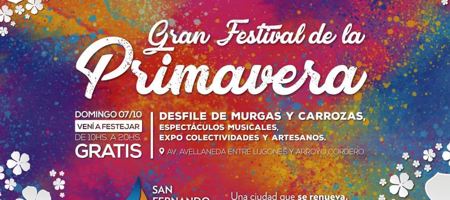 Por lluvias se reprograma el Festival de la Primavera para el domingo 7 de octubre
