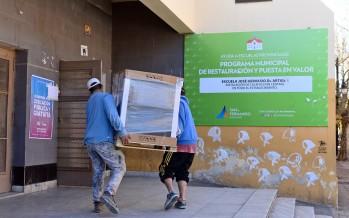 Entrega de equipos de calefacción central a la Escuela Normal 'Artigas'