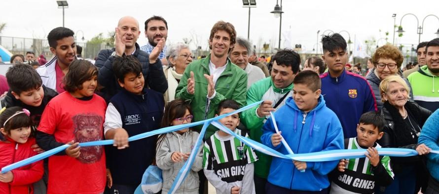 Se inauguró la nueva Plaza San Ginés