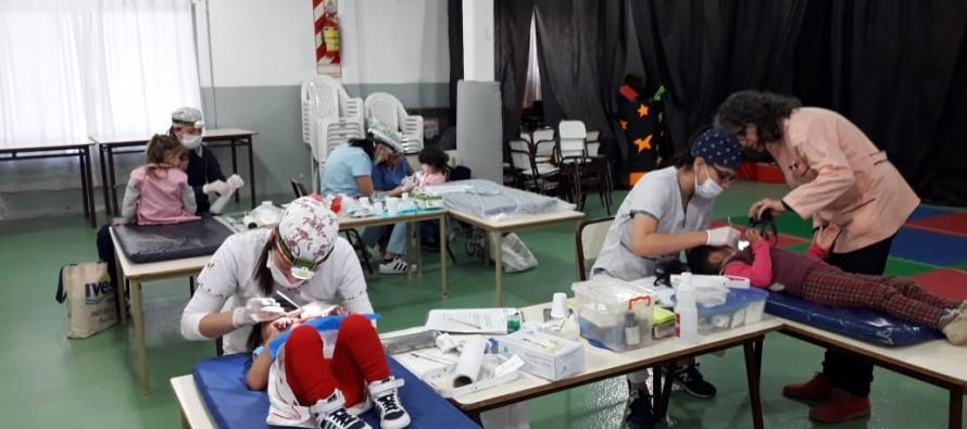 Controles odontológicos en el Jardín Maternal Santa Catalina