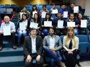"""Se entregaron diplomas a los estudiantes que finalizaron la diplomatura """"Gestión del Deporte"""" en el CUM"""