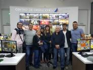 Vecinos del barrio Crisol visitaron el Centro de Operaciones