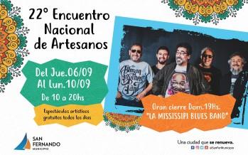 Hoy comienza el 22° Encuentro Nacional de Artesanos