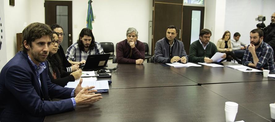 """Juan Andreotti: """"Queremos crear una ley marco para que se de el mismo tratamiento a todos los municipios"""""""