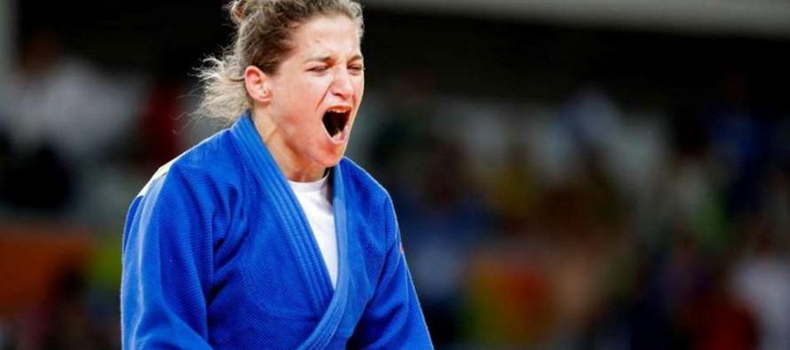 """Otro título para la """"Peque"""": Pareto, medalla de oro en el Panamericano de Judo"""
