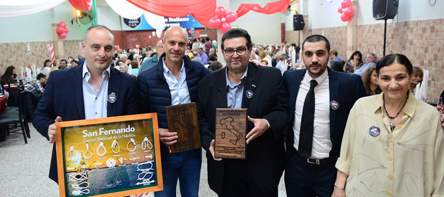 El Círculo Italiano de Virreyes celebró sus primeros 48 años