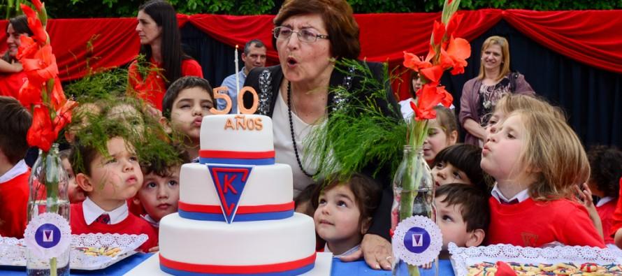 Se celebró el 50° aniversario del Jardín de Infantes El Cedro