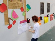 Taller de alimentación saludable para los chicos del CEIM Nº 4