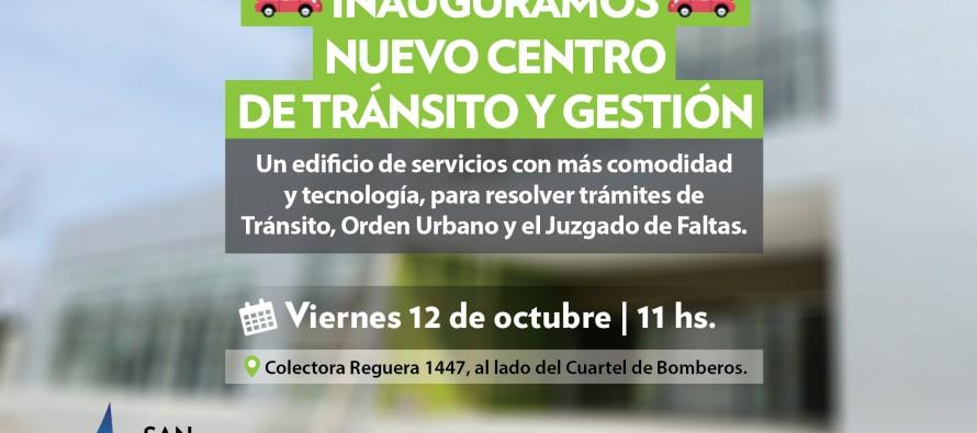 Mañana se inaugura el nuevo Centro de Tránsito y Gestión en Acceso Norte y Urquiza