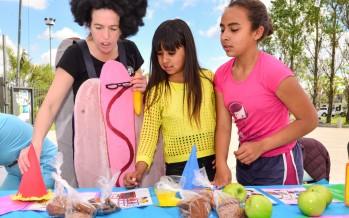 Se desarrolló una jornada de nutrición y alimentación saludable en la Plaza del Bicentenario