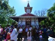 Misa y procesión náutica en el Paraná Miní para celebrar el día de Nuestra Señora del Rosario