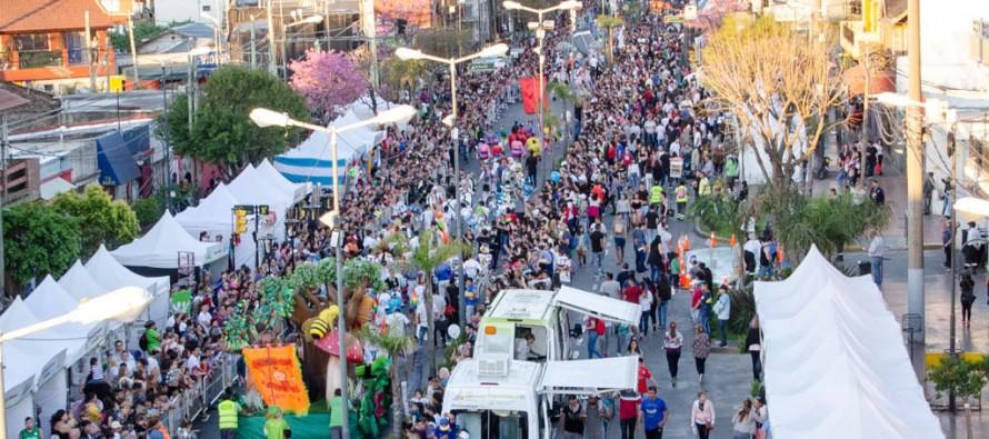 Jornada especial para celebrar la llegada de la primavera en la avenida Avellaneda