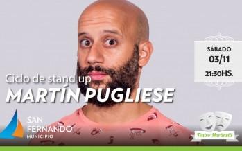 Martín Pugliese se presenta con su show de Stand Up en el Teatro Martinelli