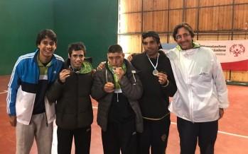 Alumnos de la Escuela de Tenis lograron medallas en el Torneo Nacional de las Olimpiadas Especiales