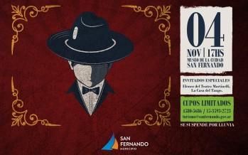 'Tarde de Tango' en el Museo de la Ciudad