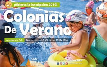 Abierta la inscripción para las colonias de verano 2019