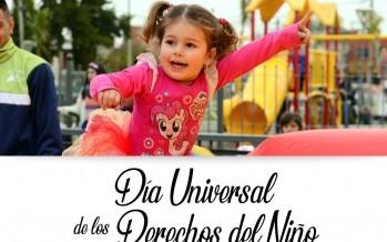 El Día Universal de los Derechos del Niño se celebra en el Parque del Bicentenario