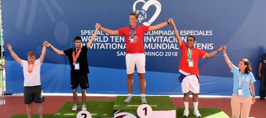 Medallas para representantes de nuestra ciudad en el Mundial de Tenis para Personas con Discapacidad Intelectual