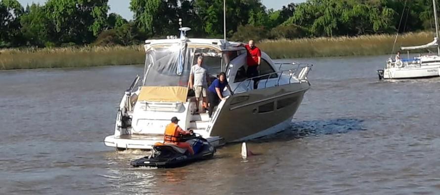 Los imprudentes de siempre: una embarcación a alta velocidad embistió a una lancha a la altura de Marina Punta Chica