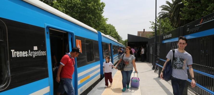 Se reinauguró la estación San Fernando del tren Mitre