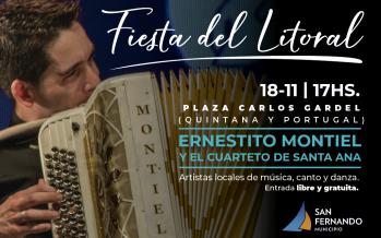 Llega la 22° Fiesta del Litoral a la Plaza Carlos Gardel