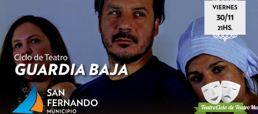 """Guardia Baja"" sube a escena en el Teatro Martinelli"