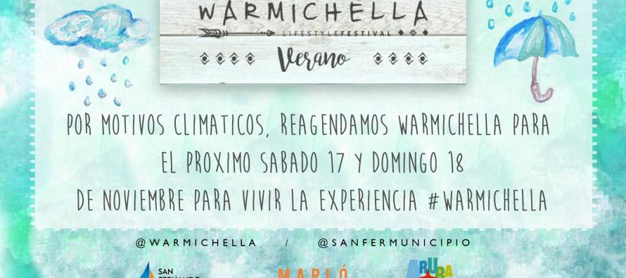 Llega el Warmichella Lifestyle Festival 2018 al Parque Náutico