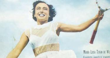 Mujer, tenista y peronista: Mary Terán de Weiss, la deportista que fue olvidada y censurada
