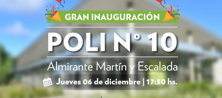 Este jueves se inaugura el Polideportivo N° 10 en Almirante Martin y Escalada