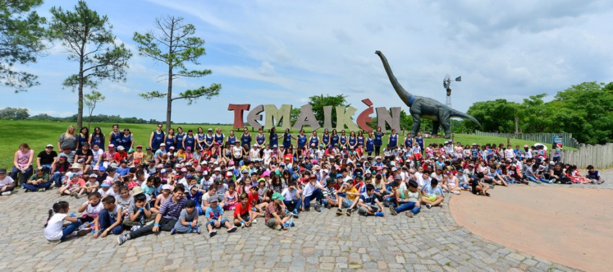 Los chicos de los centros educativos  visitaron Temaikén