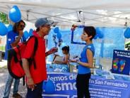 Jornada en Plaza Mitre para desalentar el uso de pirotecnia
