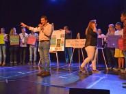 El Centro Convivencial Terapéutico realizó una muestra de fin de año en el Teatro Martinelli