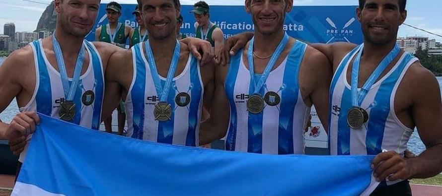 Remo: gran actuación de deportistas de nuestra ciudad en el Pre Panamericano de Río de Janeiro