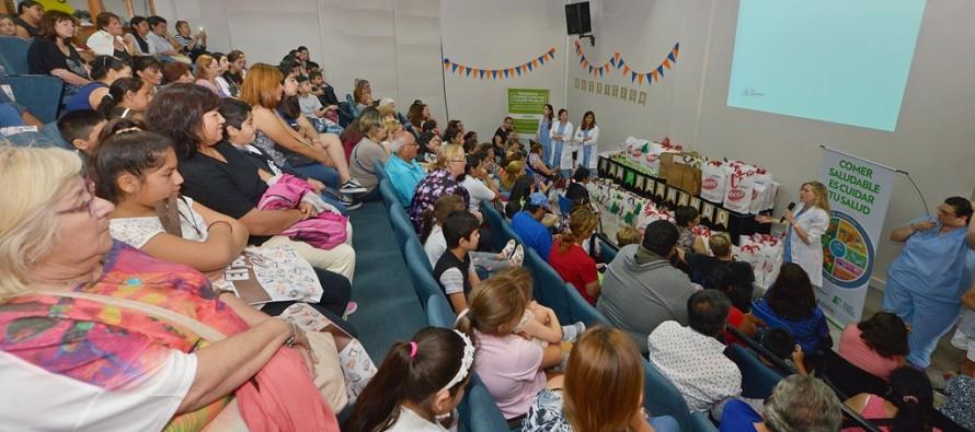 Se organizó la Fiesta de la Nutrición en el Centro Universitario Municipal