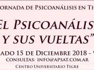 VI Jornada de la Asociación Psicoanálisis San Fernando – Tigre