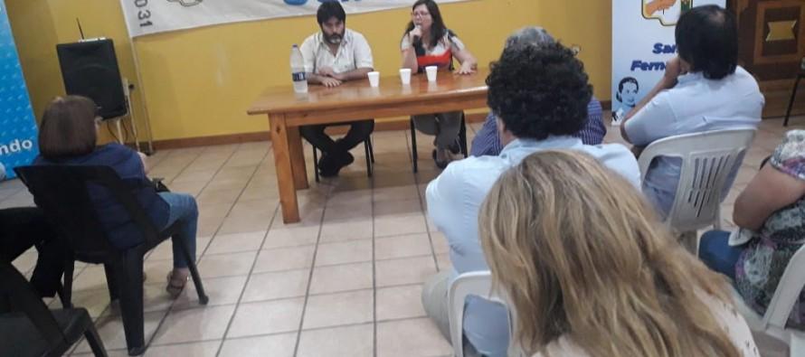 Silvina Batakis brindó una charla sobre economía en la Casa del Partido Justicialista