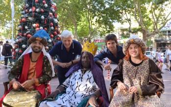 Los Reyes Magos pasaron por Plaza Mitre, Plaza Dorrego y Estación de Virreyes