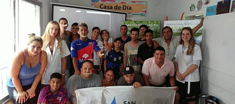 Los chicos del Centro Convivencial Terapéutico participaron de un Taller de Salud Sexual